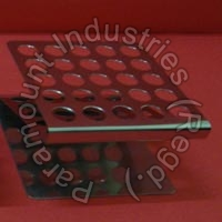 Test Tube Stand (Stainless Steel)