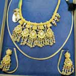 Gold Necklace Set - 01