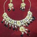 Kundan Necklace Set - 01