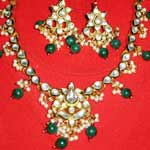 Kundan Necklace Set - 02