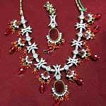 Kundan Necklace Set - 06