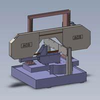 Manual Double Column Bandsaw Machine (ACS 350 DCM)