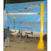 Jib Crane with Profile Section Boom
