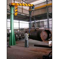 Standerd Jib Crane with Powerized Boom Rotation