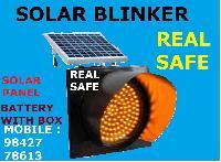 Traffic Signal Solar Blinker