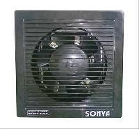 """6""""High Speed Shutter Type Exhaust Fan - Black"""