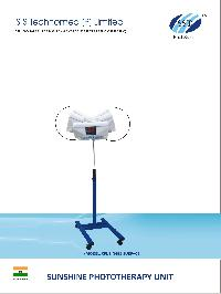 Single Surface Overhead CFL Phototherapy Unit