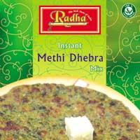 Instant Methi Dhebra Mix