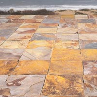 Golden Slate Stones 01