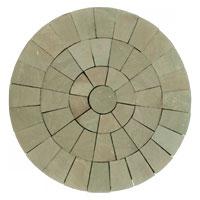 Raj Green Sandstone Circle