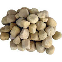 Yellow Pebbles Stone