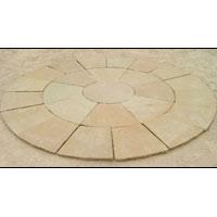Yellow Sandstone Circle