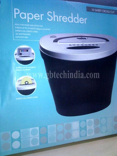 GBT 10 CD Paper Shredder