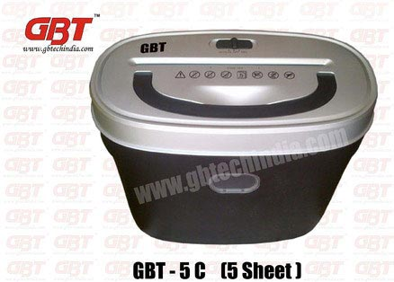 GBT 5 C Paper Shredder