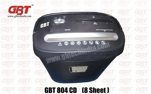 GBT 804 CD Paper Shredder