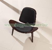 Hans Wegner Wooden Shell Chair