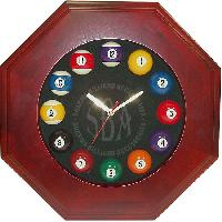 Billiard Wall Clocks