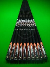 SBA Black Graphite Snooker Cues