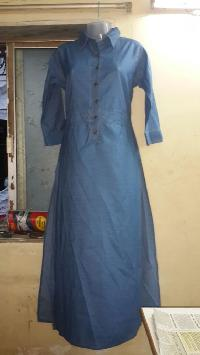 Ladies Denim Kurtis=>Ladies Denim Kurti 05