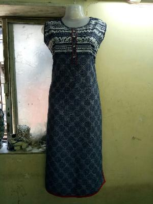 Ladies Long Kurtis=>Ladies Long Kurtis 10