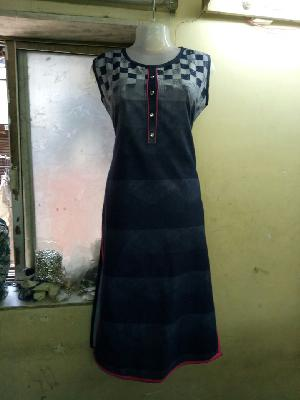Ladies Long Kurtis=>Ladies Long Kurtis 12