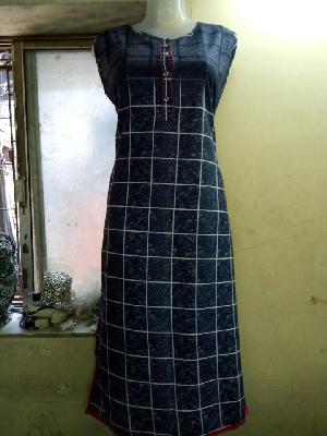 Ladies Long Kurtis=>Ladies Long Kurtis 15