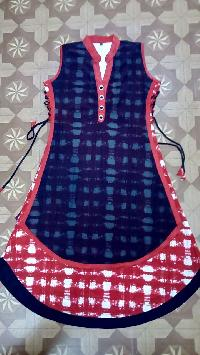 Ladies Short Kurtis=>Ladies Short Kurti 03