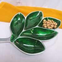 Alluminium Leaf Platter