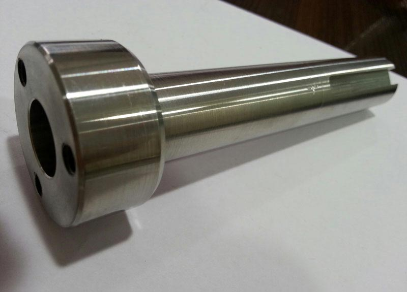 Steel Slotted Spindle Pin