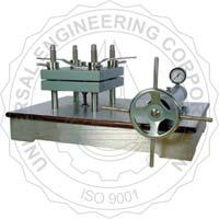 UEC-2006 A Laboratory Sheet Press - Circular Type (Hydraulic Controlled)