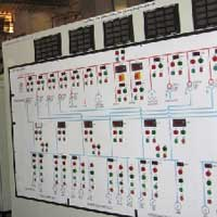 Control and Relay Mimic Panels