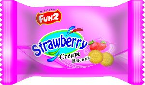 Strawberry Cream Biscuits (13 GM)