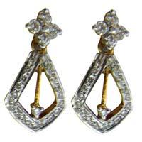 Diamond Earrings (1704-TP)