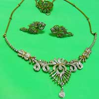 Diamond Necklace Set (1450-HS)