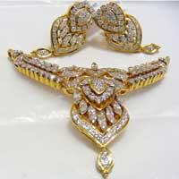 Diamond Necklace Set (1592-PST)