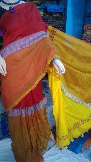 Madhyamoni Khadi Saree 02