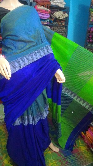 Madhyamoni Khadi Saree 07