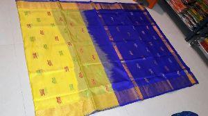 Pure Uppada Silk Jamdani Saree 01