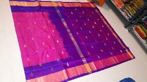 Pure Uppada Silk Jamdani Saree 02