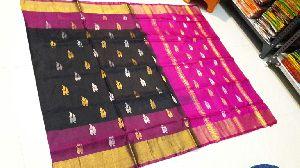 Pure Uppada Silk Jamdani Saree 04