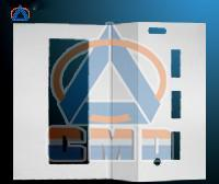 Aluminium CNC Cutting Hollow Panel (CMD-CH001)