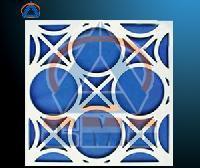 Aluminium CNC Cutting Hollow Panel (CMD-CH005)
