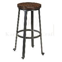Round Bar Stools 02