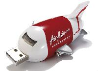 Aeroplane Shaped Pen Drives