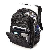 Multicompartment Back Pack With Laptop Sleeve