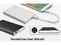 Slim metal Power Bank