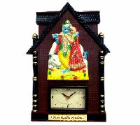 Wall Frame with Clock