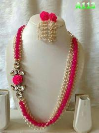 Pearl Necklace Set (A113)