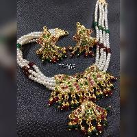 Pearl Necklace Set (JJ-365)