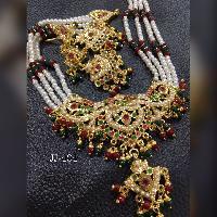 Pearl Necklace Set (JJ-494)
